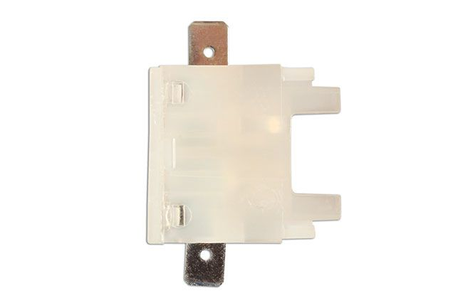 Connect 36858 Standard Blade Fuse Holder White With Tabs Pk 1